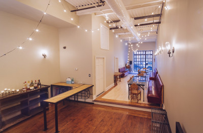 Amazing Baby Shower Venue At Brooklyn Modern Industrial Space