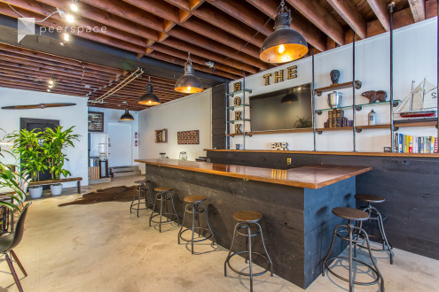 Centrally located dynamic Offsite/Event space with a Madmanesque classy vibe.  Comfortably serving up to 50 people at a time. in Culver City, Los Angeles, CA | Peerspace