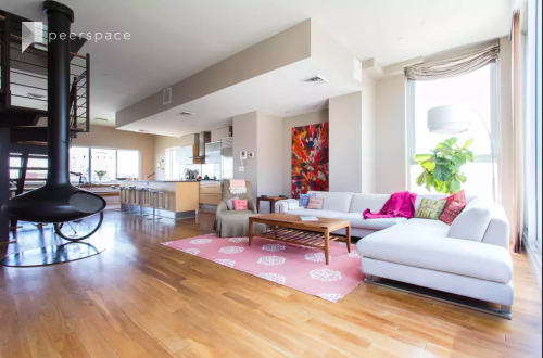 Full of Light Williamsburg Loft Duplex, 2 terraces, Skyline view in Williamsburg, Brooklyn, NY | Peerspace