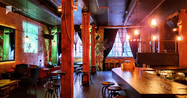 Expansive Steampunk Inspired Lounge In Historic Brick Building - SOMA in China Basin, San Francisco, CA | Peerspace