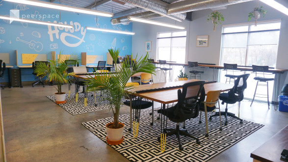 Howdy Room - Creative, Colorful Workspace Lounge with Natural Lighting in East Austin, Austin, TX | Peerspace