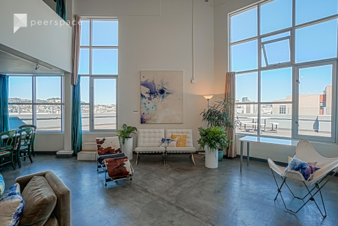 Artist's Sky Loft, Panoramic City Views in Mission District, San Francisco, CA | Peerspace