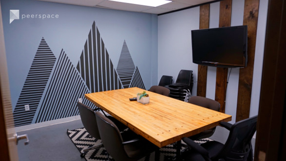 Conference Room - Creative Private Conference Room Meeting Space with Mural in East Austin, Austin, TX | Peerspace