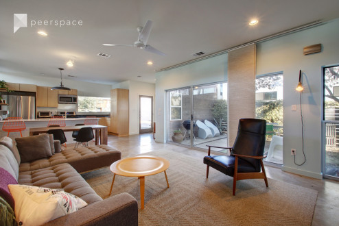 Vibrant Modern Eastside Home with private, intimate courtyard in Johnston Terrace, Austin, TX | Peerspace