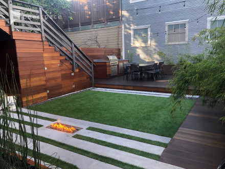 SOMA Outdoor Team Oasis + BBQ + Fire Pit in SoMa, San Francisco, CA | Peerspace