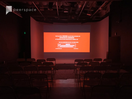 50-100 guest Stage & Private Theater in Berryessa, Milpitas, CA | Peerspace