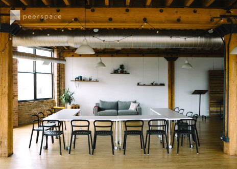 Delightful Offsite-Ready Loft with Skyline View in West Town, Chicago, IL | Peerspace