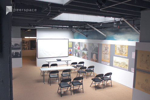 *Special Pricing for New Listing!* Modern Industrial Open Workshop or Event Space Perched Above a Historical Museum in Chinatown in Chinatown, San Francisco, CA | Peerspace