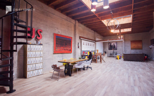 The Garage SFO: Luxury Live/Work Warehouse in South of Market, San Francisco, CA | Peerspace