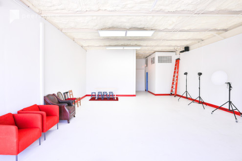 South Austin Photography Studio/Gallery simple, spacious and vibrant. in South Lamar, Austin, TX | Peerspace