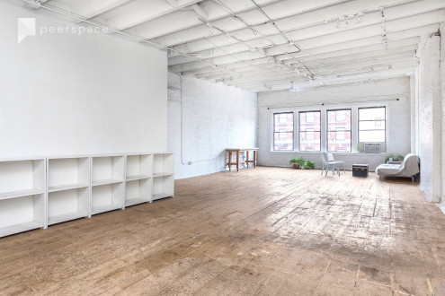 Top Floor Studio With Windows On Canal Street in Lower Manhattan, NEW YORK, NY | Peerspace
