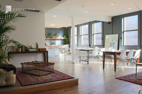 Soho Smarthome Loft Showroom - Great Light, Amazing View in Little Italy, New York, NY | Peerspace
