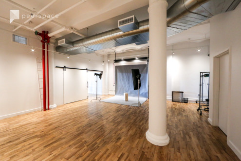 Fully Equipped Spacious SoHo Photo Studio in Lower Manhattan, New York, NY | Peerspace
