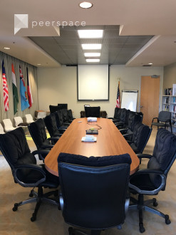Conference Meeting Room with Coffee and Water in Alviso, San Jose, CA | Peerspace