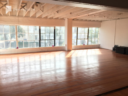 Sun-filled Movement Arts Studio and Event Space in South of Market, San Francisco, CA | Peerspace