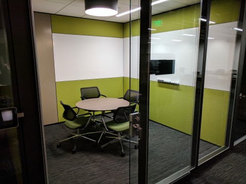 Intimate 4 Person Conference Room For Production In
