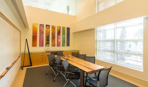Conference Room With Large Whiteboard And Video Conferencing in Ocean Park, Santa Monica, CA | Peerspace
