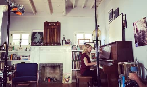 Bright open music space for acoustic rehearsal: Piano, guitar, ukulele, singing, recording in Northeast Los Angeles, Los Angeles, CA | Peerspace
