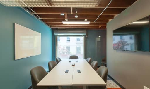 Small Conference Room Near Moscone - Amber Room in South of Market, San Francisco, CA | Peerspace