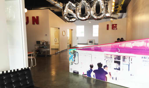 Just-renovated Industrial, Fun, Spacious, Super Chic Warehouse Office Space with Innovative Ice Cream Shop nextdoor (!) in the heart of the Culver City Arts District (Westside) in McManus, Culver City, CA | Peerspace
