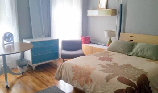 Sunlit 3 Bedroom with Large Patio on 2nd Floor of Brooklyn Row House in Bedford-Stuyvesant, BROOKLYN, NY   Peerspace