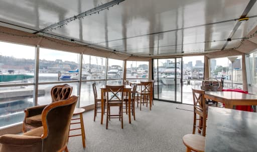 Waterfront event space with views and natural light in Westlake, Seattle, WA | Peerspace