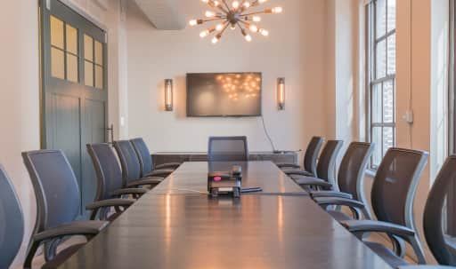 Spacious Conference Room with Private Balcony in Midtown, New York, NY | Peerspace