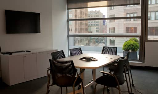 Small Conference Room with Great AV in Lower Manhattan, N, NY | Peerspace