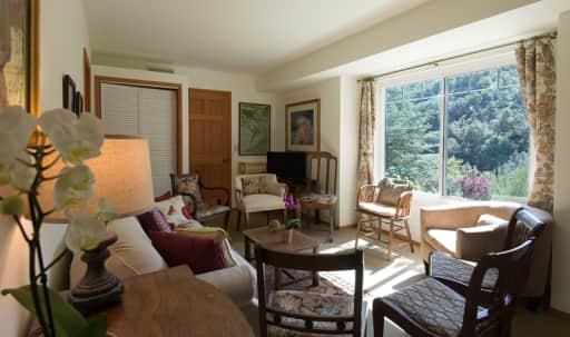 Apartment/living room in tranquil Topanga in Sylvia Park, Topanga, CA | Peerspace