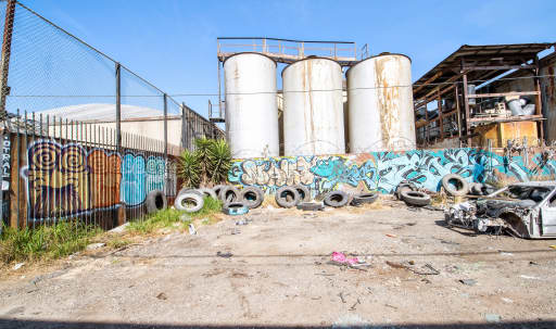 Los Angeles Alley Graffiti Location in Private Gate in South Los Angeles, Los Angeles, CA   Peerspace