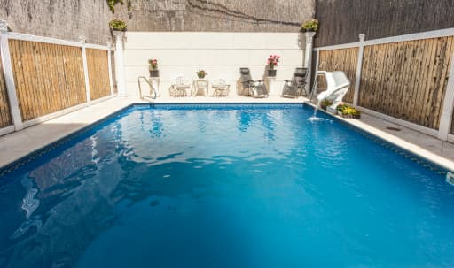 Gorgeous space with Poolside Patio in Windsor Terrace, Brooklyn, NY | Peerspace