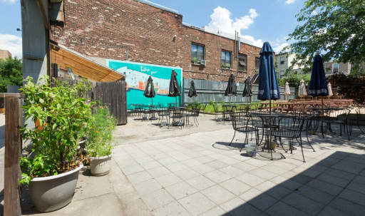 Stylish Lounge with Huge Beer Garden in Greenpoint, Brooklyn, NY | Peerspace