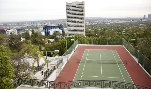 Tennis court with stunning view plus ballroom and pool in Central LA, los angeles, CA | Peerspace