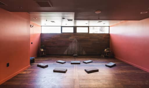 Zen Yoga Studio with Library Lounge and Gallery in Central LA, Los Angeles, CA | Peerspace