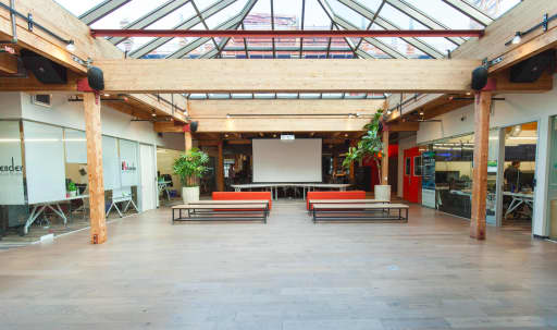 Town Hall-Style Event Space with an Atrium in South of Market, San Francisco, CA | Peerspace