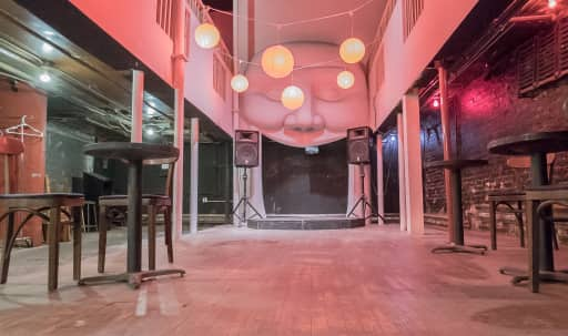 Warhol-era East Village underground speakeasy for funky soirees, cabarets and concerts in Lower Manhattan, New York, NY | Peerspace