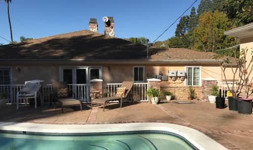 Elegant Outdoor Pool Venue with Tropical Landscaping in Central LA, Los Angeles, CA | Peerspace
