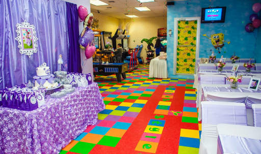 Colorful Event Space with Video Arcades and Disco Lights in Ridgewood, Ridgewood, NY | Peerspace