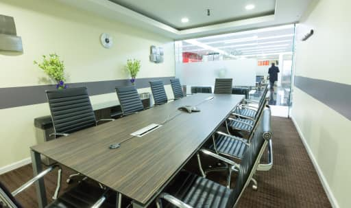 Large Meeting Room A for 12 - Heart of Times Sq. in Midtown, NEW YORK, NY | Peerspace