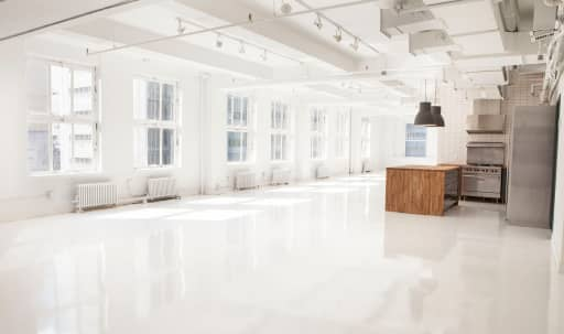 Midtown Modern White Offsite Loft in Garment District, New York, NY | Peerspace