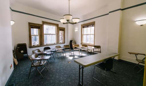 Spacious room in flat iron district available for all kinds of classroom and office use. in Midtown, New York, NY | Peerspace