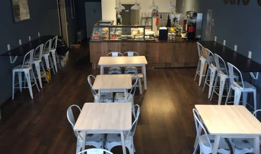 Spacious urban Bedstuy Café beautifully designed with natural light. in Bedford-Stuyvesant, Brooklyn, NY | Peerspace