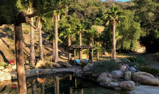 Stunning Natural Location on 30-Acre Horse Ranch Near Malibu. Includes use of onsite daylight studio, 2700 sq ft production space, walk-in salt water pool. in undefined, Malibu, CA | Peerspace