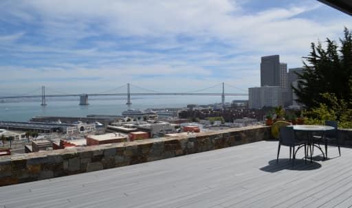 Custom-designed, expansive indoor/outdoor Bay views in Telegraph Hill, San Francisco, CA | Peerspace