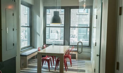 Birght conference room perfect for small groups in Midtown, New York, NY | Peerspace