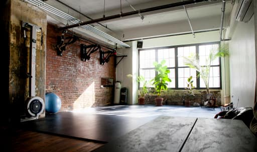 Beautiful plant filled holistic studio for practitioners and photographers, with beautiful light and industrial details. in Clinton Hill, Brooklyn, NY | Peerspace