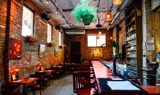 Bar/Restaurant with Private Garden and Sound System in East Williamsburg, Brooklyn, NY | Peerspace