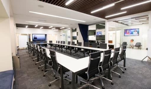Uber Modern Meeting Room I - in the Heart of Times Square - TS in Midtown, NEW YORK, NY | Peerspace