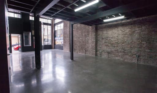 Well Lit, Industrial, Minimalist Space with High Ceilings, Exposed Brick, and Steel Beams in Tenderloin, San Francisco, CA | Peerspace