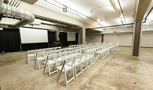 Theater Event Space with Industrial Charm in South of Market, San Francisco, CA | Peerspace